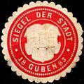 Siegelmarke Siegel der Stadt - Guben W0219106.jpg