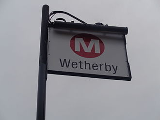 West Yorkshire Metro - The West Yorkshire Metro livery is used at all rail and bus transport in West Yorkshire such as here at Wetherby bus station