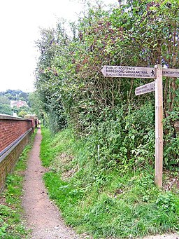 Signpost on the Ribbesford Circular Trail - geograph.org.uk - 962649
