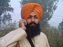 Sikh wearing turban.jpg