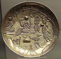 Silver gilt dish Tabaristan 7th 8th century.jpg