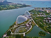 Singapore Gardens by the Bay viewed from Marina Bay Sands 03.jpg