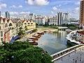 Singapore River seen from Swissotel Merchant Court Singapore.jpg