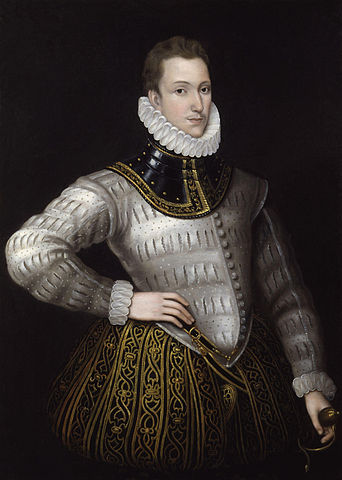 Sir Philip Sidney by unknown artist National Portrait Gallery