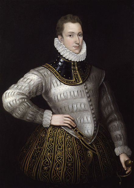 Sir Philip Sidney, former member of the school for whom a medal is named. Sir Philip Sidney from NPG.jpg