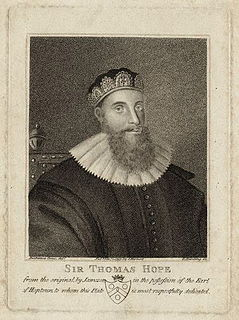 Sir Thomas Hope, 1st Baronet Scottish lawyer