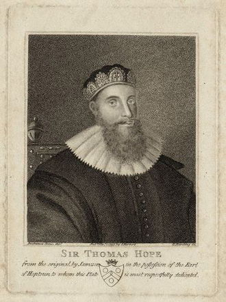 Sir Thomas Hope, 1st Baronet - Sir Thomas Hope, 1st Baronet