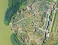 """Situl arheologic """"Cetatea Histria"""", vedere de ansamblu surprinsă din aeronavă.jpg"""