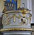 Skelleftea landskyrka Pulpit detail.jpg