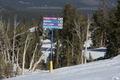Ski trail signs on mountain, Mammoth Lakes, California LCCN2013633712.tif
