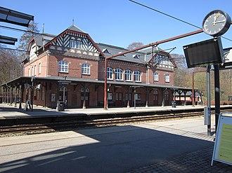 Skodsborg - Skodsborg station