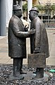 Skulptur Knesebeckstr 81 (Charl) The Conversation&William McElcheran&.jpg