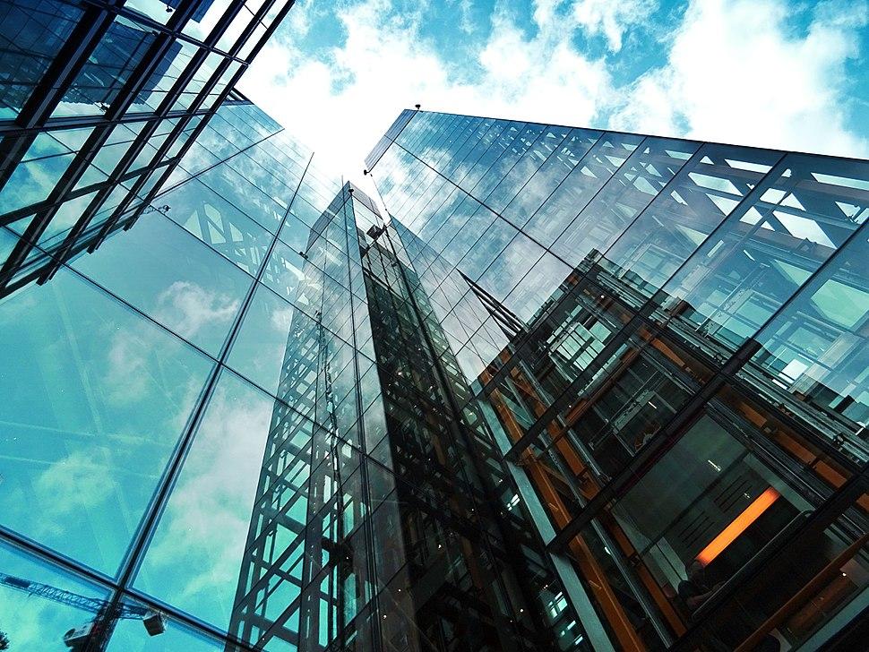 Skyscrapers glass