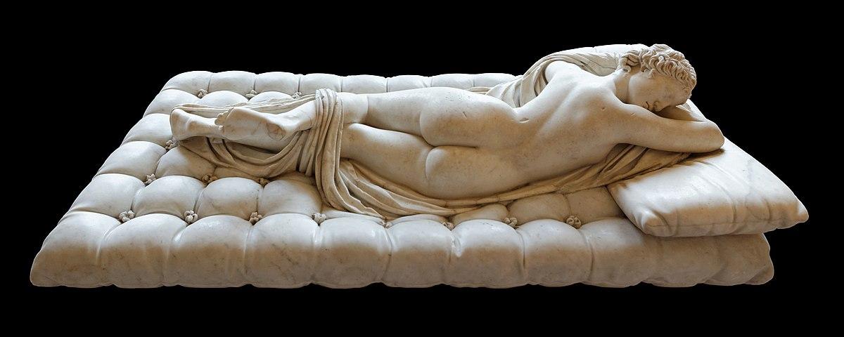 Ermafrodito dormiente - Wikipedia