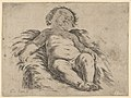 Sleeping child, partly in shadow, after Reni(?) MET DP837914.jpg