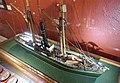 Slottsfjellsmuseet Museum Tønsberg Norway. Svend Foyn whaling pioneer Spes & Fides 1863 Whaler Steamer Harpoon cannon Ship model Hvalbåt Dampskip Harpunkanon Skipsmodell 2020-01-21 DSC02161.jpg