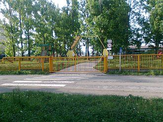 Šaca - Image: Slovakia Kosice Saca playground medulik