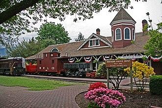 Northwest Railway Museum - Image: Snoqdp 1