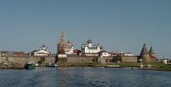 Das Solowezki-Kloster im Jahr 2004