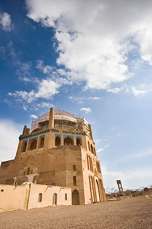 Dome of Soltaniyeh - Image: Soltaniyeh exterior
