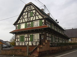 Half-timbered house in Soufflenheim (1775)