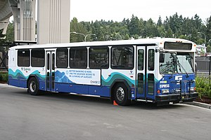 Gillig Phantom - 2008 Phantom operated by Sound Transit; one of the last models to be built.