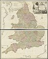 South Britain or England & Wales - drawn from several surveys &c. on the new projection ; corrected from astronomical observations, & the places marked where the observatns. were made (20118953793).jpg