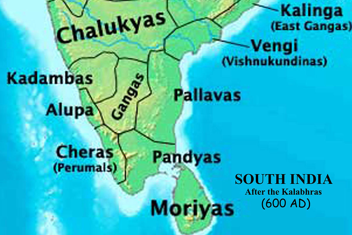 South India in 600 AD