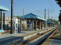 South at passenger platform at Millcreek station, Aug 16.jpg