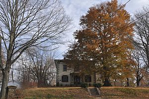 Chamberlain-Bordeau House - Image: Southbridge MA Chamberlain Bordeau House