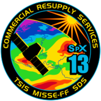 SpaceX CRS-13 Patch.png