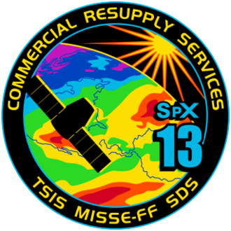 SpaceX CRS-13 - Image: Space X CRS 13 Patch
