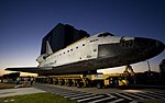 Space Shuttle Atlantis Rolls Slowly to Its New Home 06.jpg