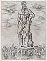 Speculum Romanae Magnificentiae- Hercules Colossus at Padua (L'Ercole di casa Benavides a Padova) MET DP870576.jpg