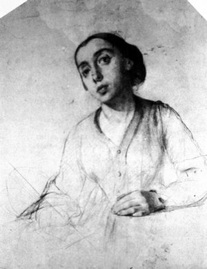 Lilly Martin Spencer - Self portrait, 1848