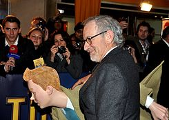 Spielberg and Tintin 2011.jpg