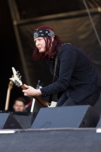 Michael Amott - Michael Amott with Spiritual Beggars at the Rockharz Open Air 2016 in Germany