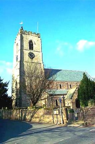 Spofforth, North Yorkshire - Image: Spofforth, All Saints Church geograph.org.uk 232909