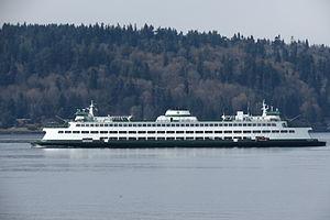 Jumbo-class ferry - Jumbo-class ferry MV Spokane, 2013