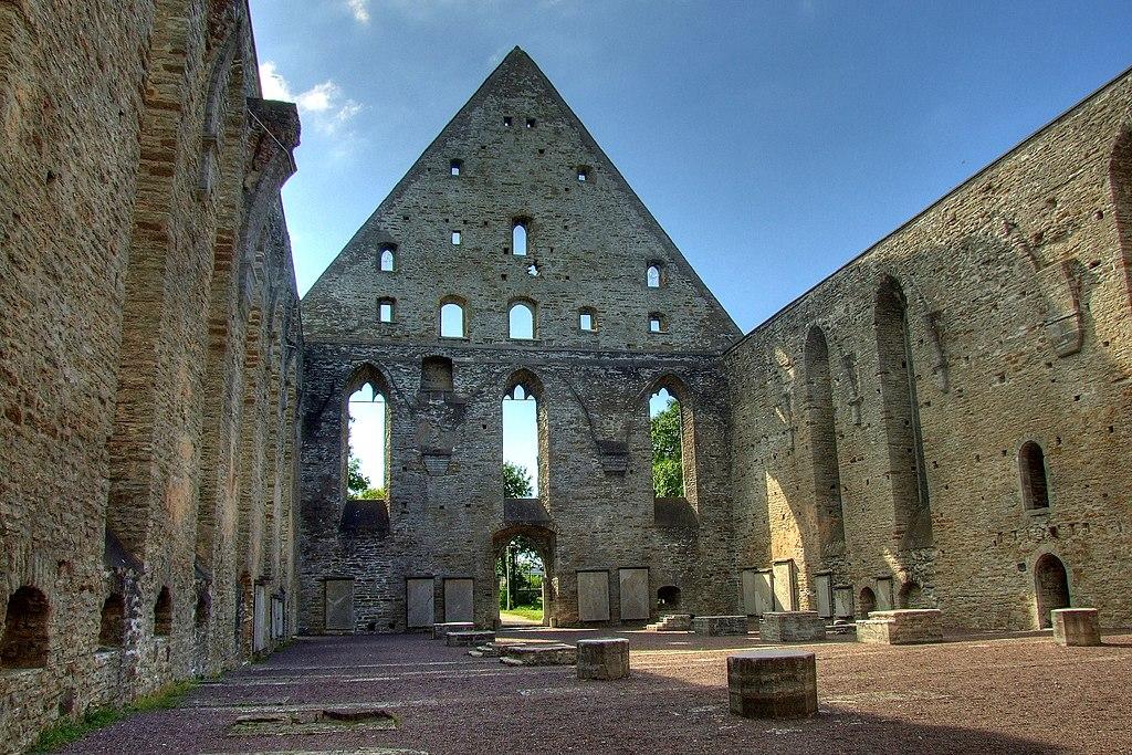Ruine de l'abbaye Sainte Brigitte à Tallin - Photo de Modris Putns