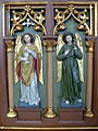 St.Peter am Wimberg Kirche - Herz-Jesu-Altar 3 Engel.jpg
