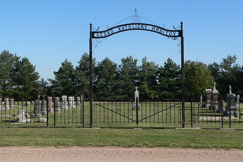 File:St. Martin Cemetery (Clay Co, NE) gate Czech.jpg
