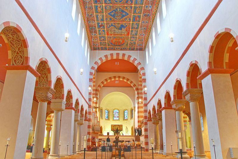 Stützenwechsel in St. Michaelis