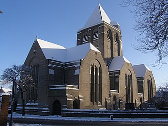 1916 in architecture - Giles Gilbert Scott's Church of St Paul, Liverpool completed