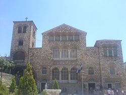 The Church of Hagios Demetrios.