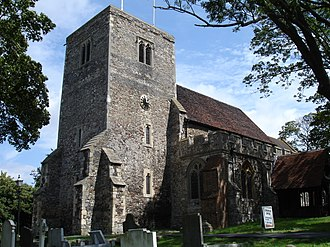 South Benfleet - Image: St Mary's Church Benfleet South East