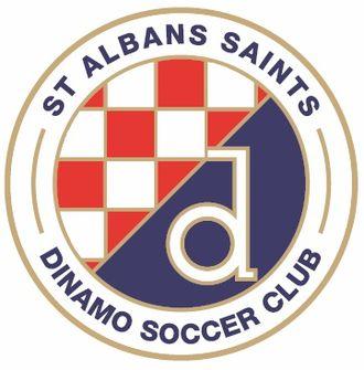 St Albans Saints SC - Image: St Albans Saints Dinamo logo