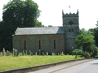 Everingham Village in the East Riding of Yorkshire, England
