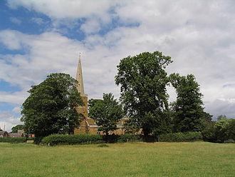 Ab Kettleby - Image: St James Church Ab Kettleby
