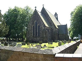 Listed buildings in Smallwood, Cheshire - Image: St John the Baptist, Smallwood geograph.org.uk 184327